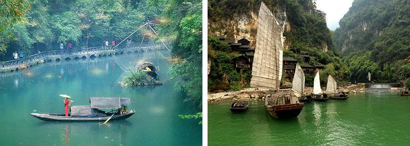 宜昌风景区导游全景图